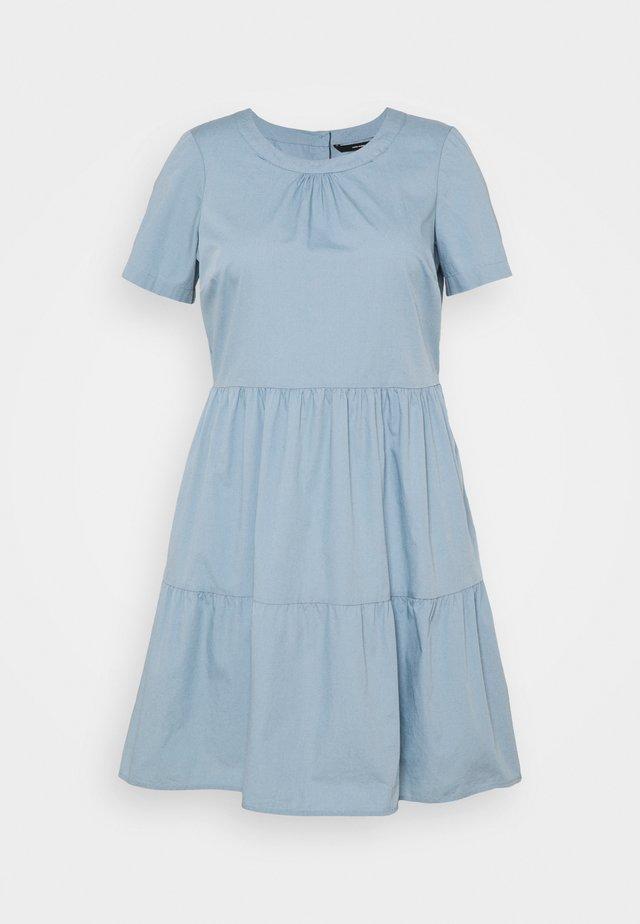 VMGULVA ABOVE KNEE DRESS - Kjole - blue fog