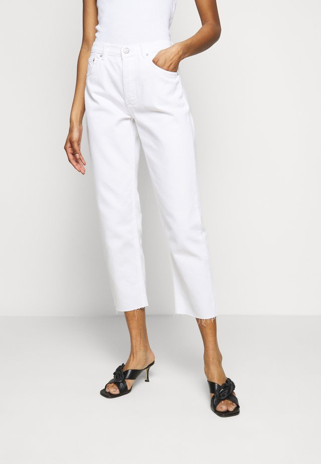 THE TOMMY HIGH RISE STRAIGHT  - Straight leg jeans - vintage white