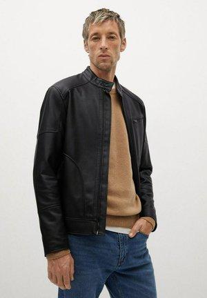 JOSENO - Faux leather jacket - noir