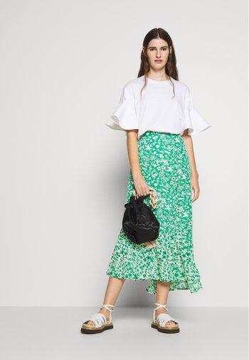 CLEO SKIRT - Maxi skirt - green