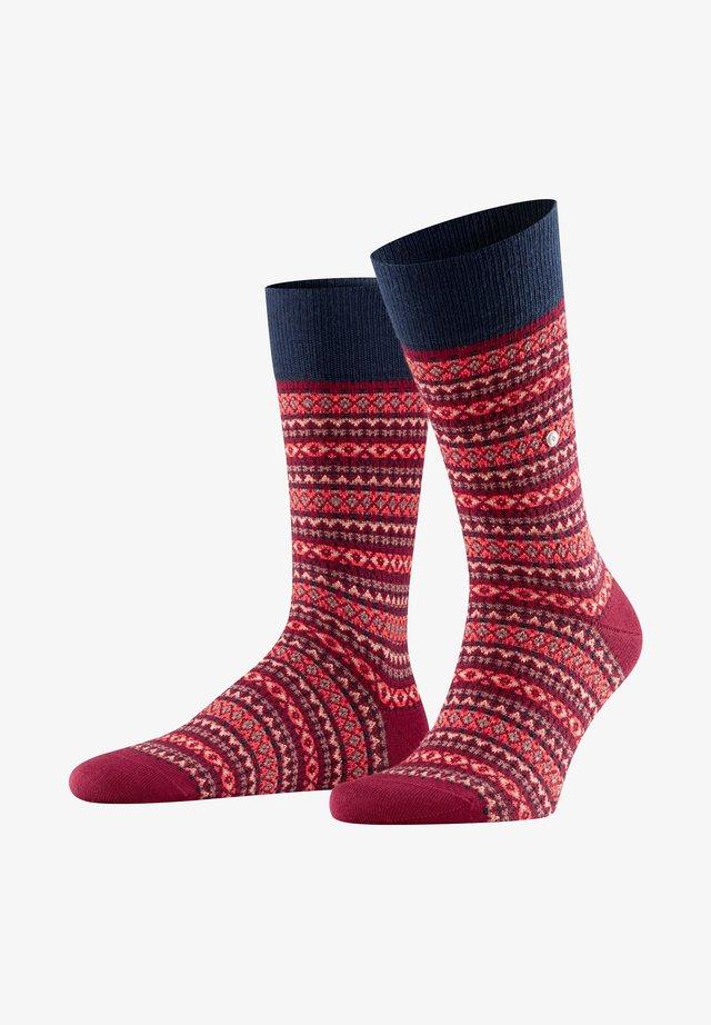 ISLE - Socks - merlot