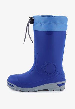 Snowboots  - kornblume/hellblau