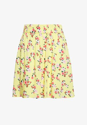 SKIRT PETITE - Mini skirt - lemon drop