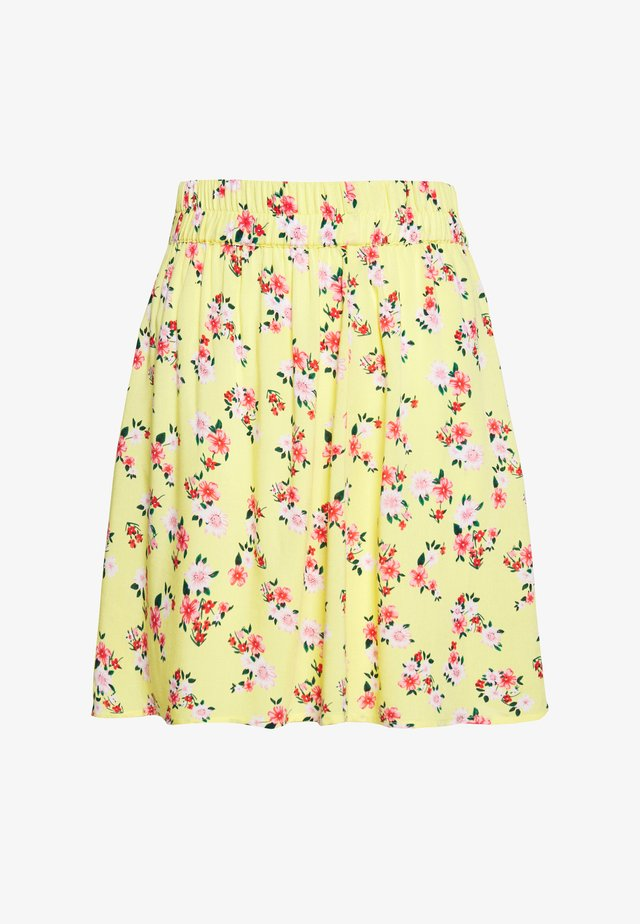 SKIRT PETITE - Minikjol - lemon drop