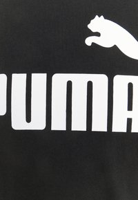 Puma - LOGO TEE - Triko spotiskem - black - 4