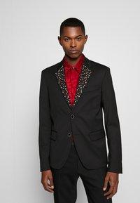 Just Cavalli - EMBELLISHED JACKET - Suit jacket - black - 0