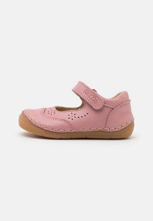 PAIX - Ankle strap ballet pumps - pink
