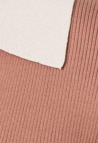 Glamorous - 70S COLOUR BLOCK - Jumper - light brown/cream - 2