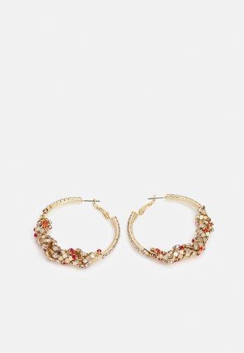FGZILLA EARRINGS - Earrings - gold-coloured