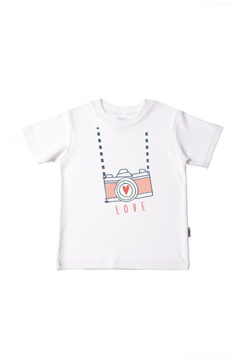 MIT TOLLEM FRONTPRINT - Print T-shirt - weiß