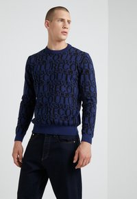 Versace Jeans Couture - MAGLIERIA - Jumper - blue - 0