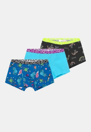 3 PACK - Boxerky - multi-coloured/mottled dark green