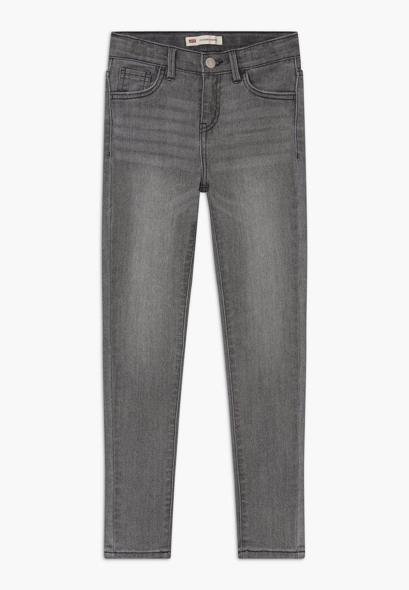 Levi's® - 710 SUPER SKINNY  - Skinny džíny - grey denim