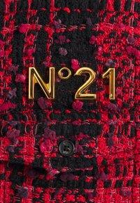 N°21 - Summer jacket - fantasia base rosso/nero - 2