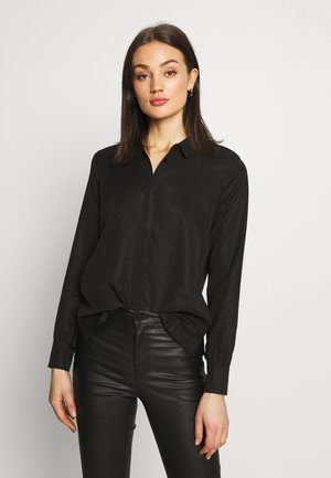 DIDO - Button-down blouse - black