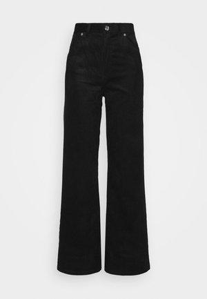 YOKO TROUSERS - Pantaloni - black dark