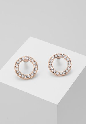 EARRINGS VICTORIA - Oorbellen - rosegold-coloured