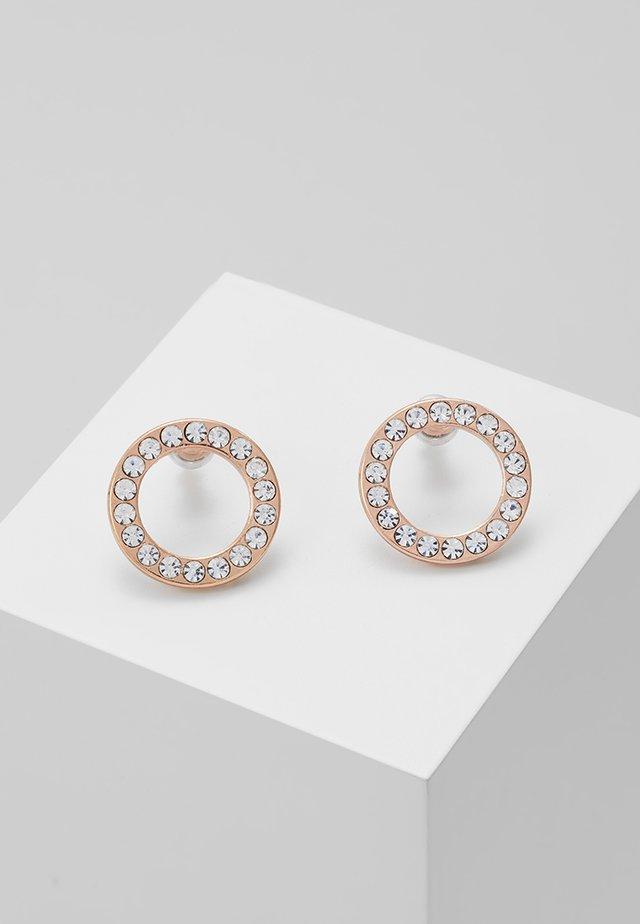 EARRINGS VICTORIA - Earrings - rosegold-coloured
