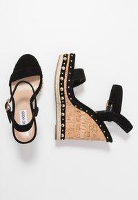 Steve Madden - MAURISA - High heeled sandals - black - 3