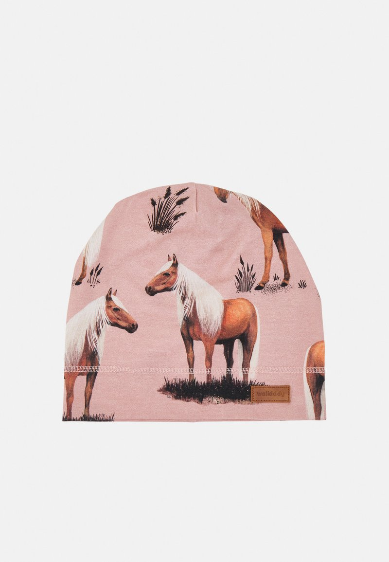 Walkiddy - BEANIE BEAUTY HORSES UNISEX - Beanie - pink