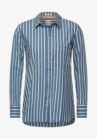 Cecil - MIT STREIFEN MUSTER - Button-down blouse - blau - 3