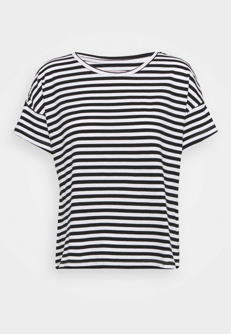 Anna Field - T-shirts med print - black/white