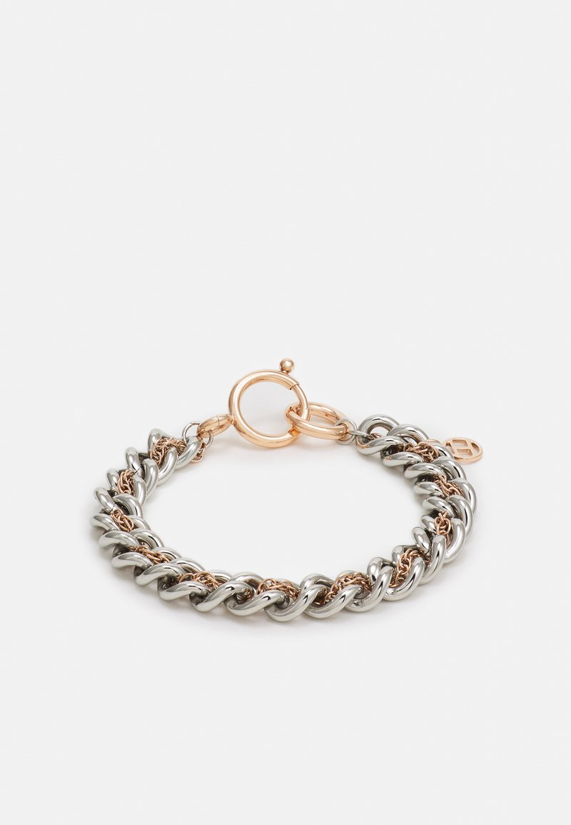 Tommy Hilfiger - CASUAL CORE - Pulsera - silver-coloured/roségold-coloured