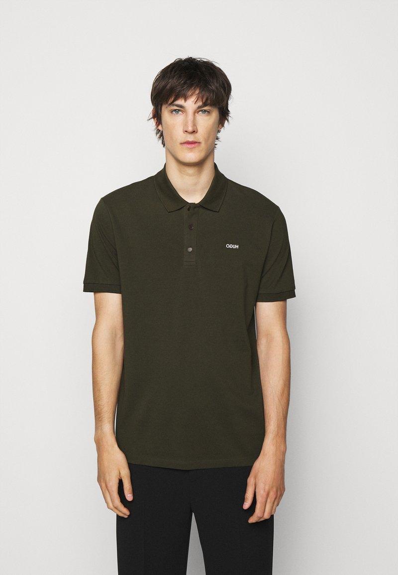 HUGO - DONOS - Polo shirt - dark green