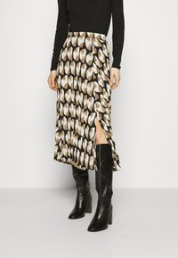 Freequent - PAULA MUST - A-line skirt - beige/sand - 0
