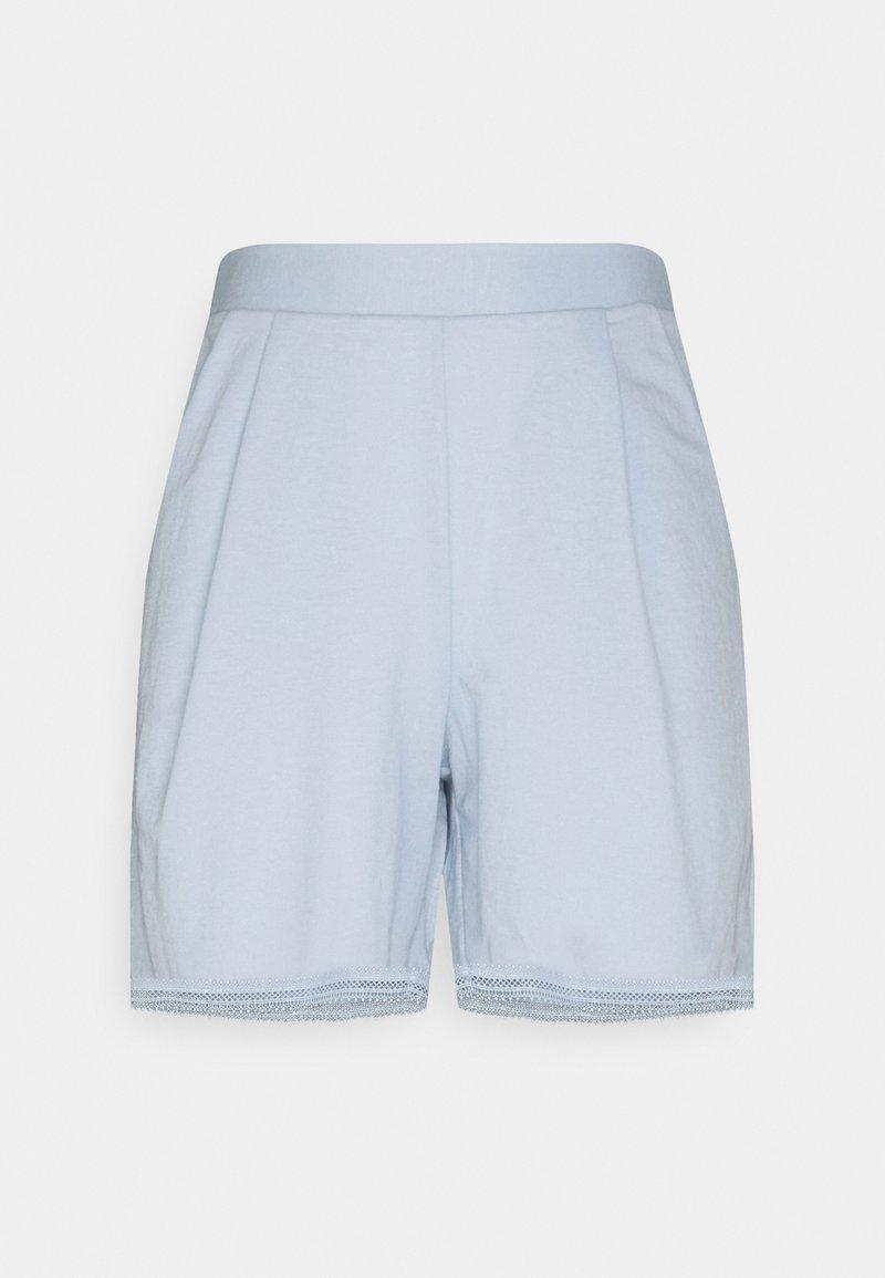 Vila - VISAFINA - Shorts - cashmere blue