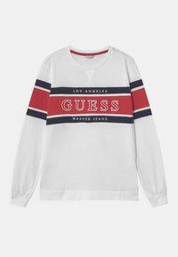 Guess - JUNIOR - Maglietta a manica lunga - true white - 0