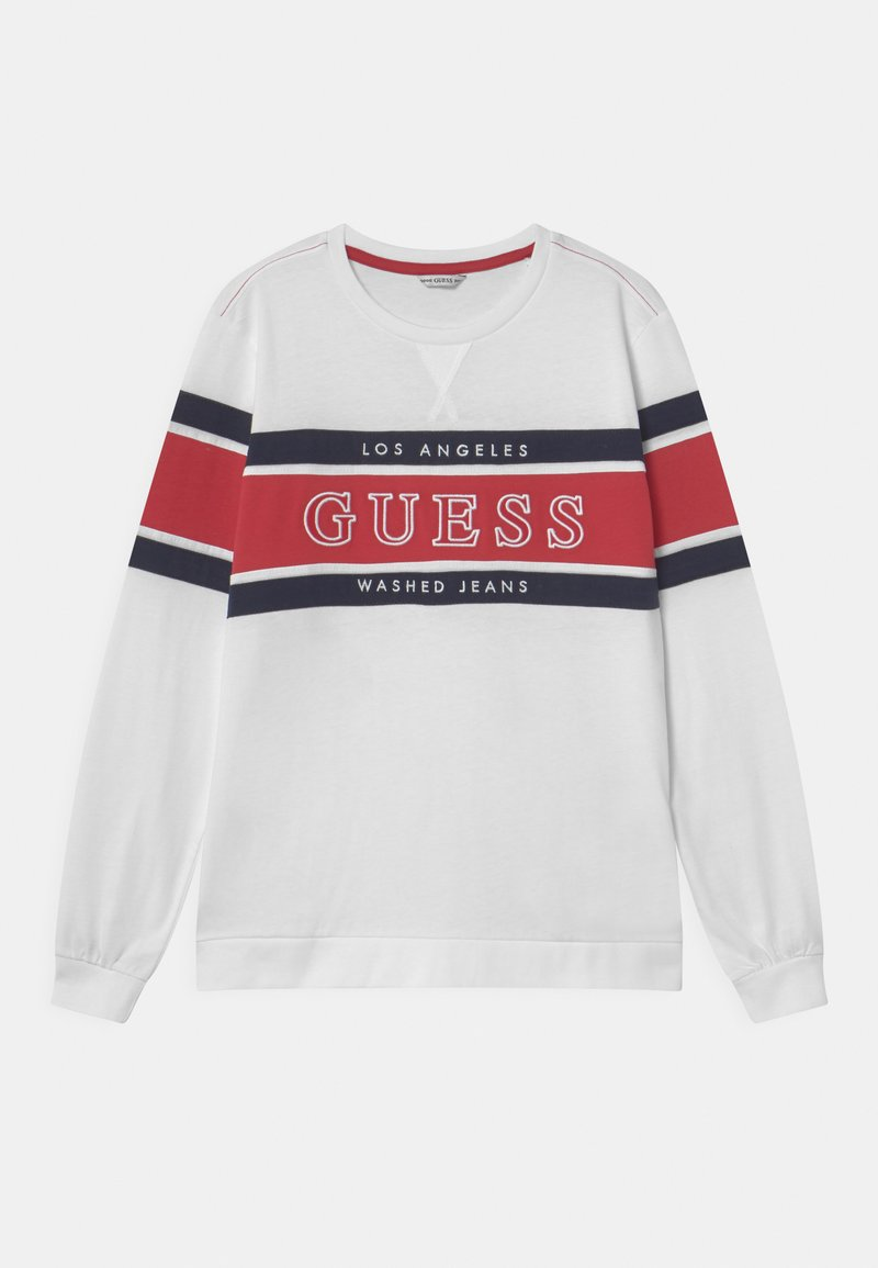 Guess - JUNIOR - Maglietta a manica lunga - true white
