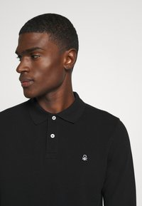 Benetton - Polo shirt - black - 4
