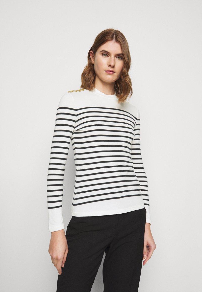 Claudie Pierlot - Long sleeved top - ecru