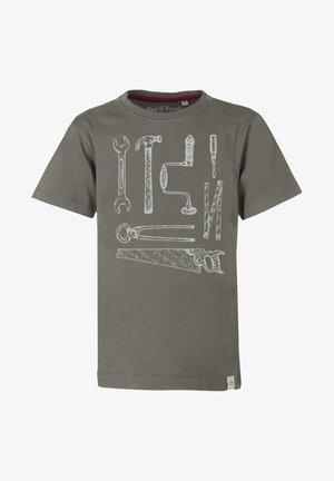 T-shirts print - olive