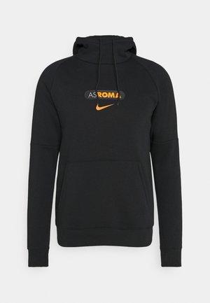 AS ROM HOOD  - Article de supporter - black/safety orange