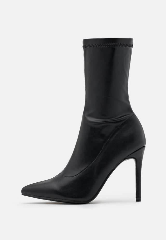 LUTHER - High heeled boots - black