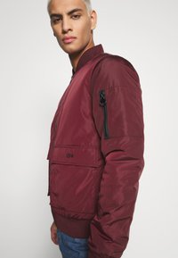 274 - BASEBALL JACKET - Giubbotto Bomber - burgundy - 3