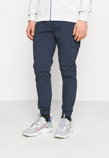 SCANTON - Cargo trousers - blue