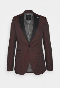 Shelby & Sons - BELLEVUE SUIT SET - Completo - burgundy - 2