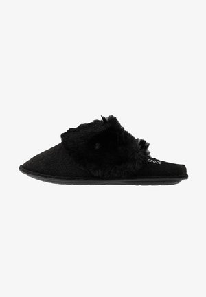 CLASSIC LUXE SLIPPER  - Slippers - black