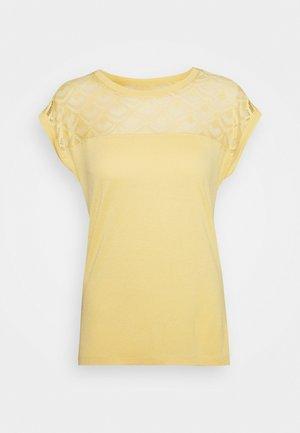 ONLNICOLE LIFE MIX - Camiseta estampada - jojoba