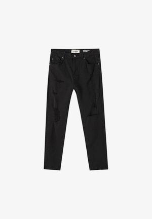 Jeans Tapered Fit - mottled black
