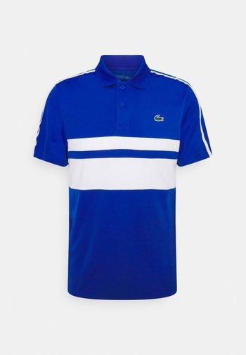 TENNIS - Sportshirt - lazuli/white