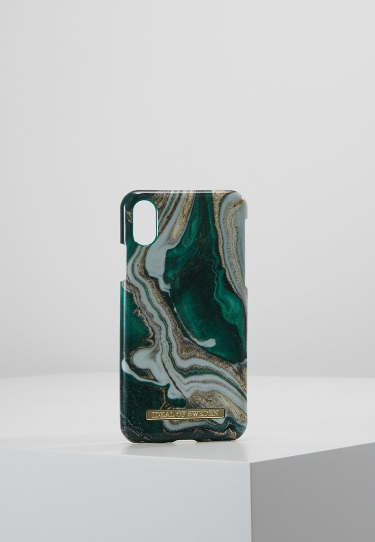 iDeal of Sweden - FASHION CASE IPHONE X/XS MARBLE - Telefoonhoesje - goldjade