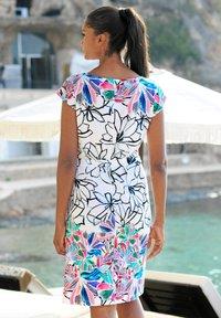 Alba Moda - Shift dress - weiss-bunt - 5