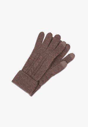 Fingerhandschuh - taupe