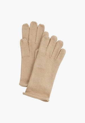 Gloves - beige