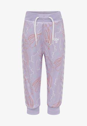 Tracksuit bottoms - pastel lilac