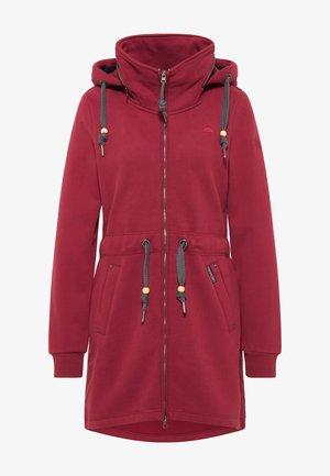 Short coat - dunkelrot
